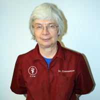 Veterinarian Judith Greenamyer